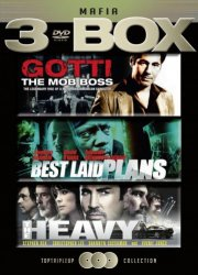 gotti the mob boss // best laid plans // the heavy - DVD