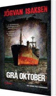 grå oktober - bog