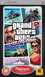 grand theft auto vice city stories (gta) (platinum) - psp