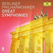 berliner philharmoniker - great symphonies - cd