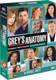 greys hvide verden - sæson 9 - DVD