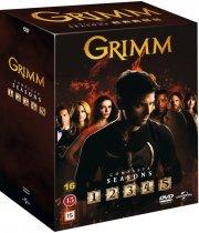 grimm - sæson 1-5 boks - DVD