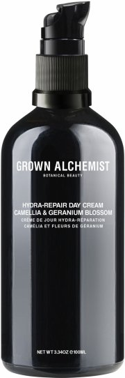 grown alchemist ansigtscreme - hydra-repair day cream: camellia & geranium blossom 100 ml - Hudpleje
