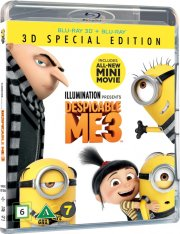 grusomme mig 3 / despicable me 3 - 3D Blu-Ray