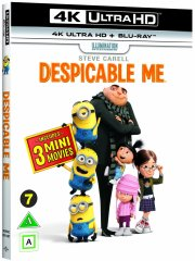 grusomme mig / despicable me - 4k Ultra HD Blu-Ray
