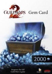 guild wars 2 gem card - 2000 gems - PC