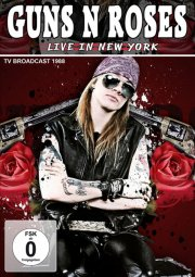 guns 'n' roses - live in new york 1988 - DVD