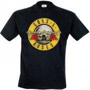 guns'n roses logo t-shirt - s - Merchandise