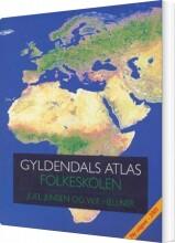gyldendals atlas - folkeskolen - bog