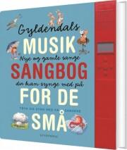 gyldendals musiksangbog - med lydpanel - bog