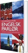 gyldendals store engelsk parlør - bog