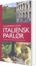 gyldendals store italiensk parlør - bog
