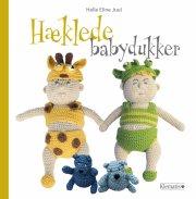 hæklede babydukker - bog