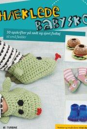hæklede babysko - bog
