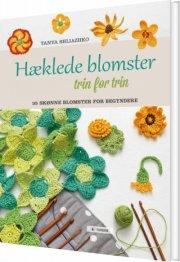 hæklede blomster trin for trin - bog