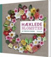 hæklede blomster - bog