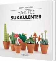 hæklede sukkulenter - bog
