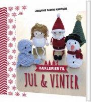 hæklerier til jul & vinter - bog