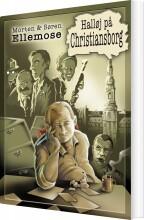 halløj på christiansborg - bog