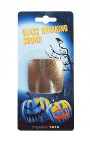 halloweenpynt - glas der går i stykker - Diverse