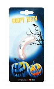 halloween kostume tilbehør - tænder med tato - Diverse