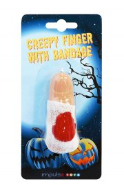 halloweenpynt - uhyggelig finger - Diverse