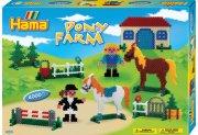 hama midi perler - pony farm 4000 stk. - Kreativitet