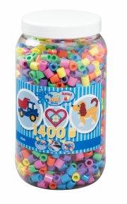 hama maxi perler pastel mix - 1400 stk. - Kreativitet