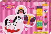 hama gaveæske med maxi perler - pink - Kreativitet