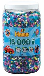 hama midi perler mix 69 - 13.000 stk. - Kreativitet