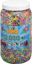 hama midi perler pastel mix - 13.000 stk. - Kreativitet