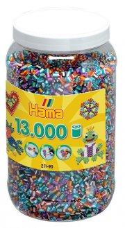 hama midi perler striped - 13.000 stk. - Kreativitet