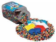 hama midi perler med perleplader - 16.000 stk - blå - Kreativitet
