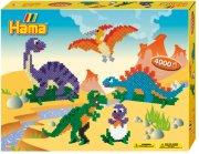hama gaveæske med midi perler - dinosaurus - Kreativitet