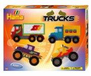 hama gaveæske med midi perler - trucks - Kreativitet