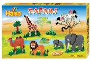 hama gaveæske med midi perler - safari - Kreativitet
