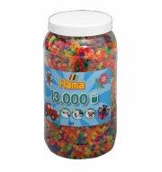 hama midi perler neon mix - 13.000 stk. - Kreativitet