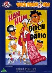 han, hun, dirch og dario - DVD