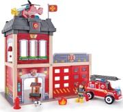 hape brandstation legesæt med brandbil - Køretøjer Og Fly
