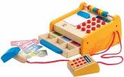 hape legetøjs kasseapparat i træ - Rolleleg