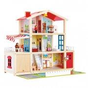 hape dukkehus - stor villa - Dukker