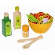 hape legemad i træ - salat - Rolleleg