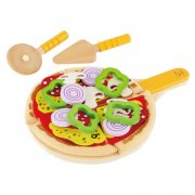hape legetøjsmad - pizza - Rolleleg