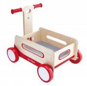 hape trækvogn / gåvogn i træ - Babylegetøj