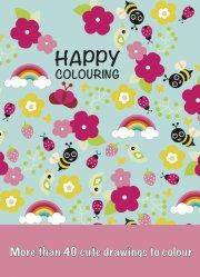 malebog - happy colouring - Kreativitet
