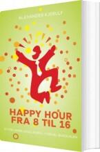 happy hour fra 8 til 16 - bog