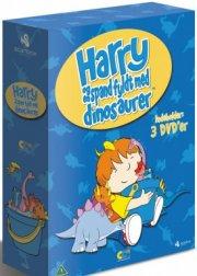 harry og en spand dinosaurer 1-3 - box set - DVD