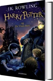 harry potter 1 - harry potter og de vises sten - bog