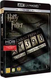harry potter 3 og fangen fra azkaban - 4k Ultra HD Blu-Ray