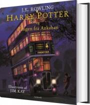 harry potter illustreret 3 - harry potter og fangen fra azkaban - bog